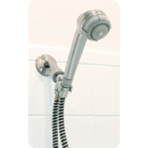 Deluxe Hand-Held Shower Massager Chrome Color