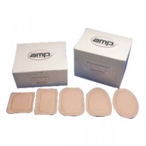 """""""Ampatch Style F-3 with 3/4"""""""" x 1 1/4"""""""" Rectangular Center Hole"""""""