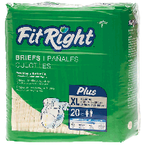 """""""FitRight Plus Brief X-Large 59"""""""" - 66"""""""""""""""