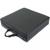 """Deluxe Seat Lift Cushion, 16"""" X 16"""" X 4"""", Black"""