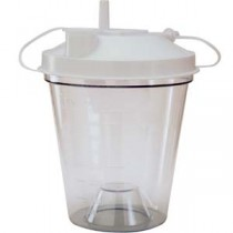 Disposable Suction Canister 800 cc, Universal Ports and Size